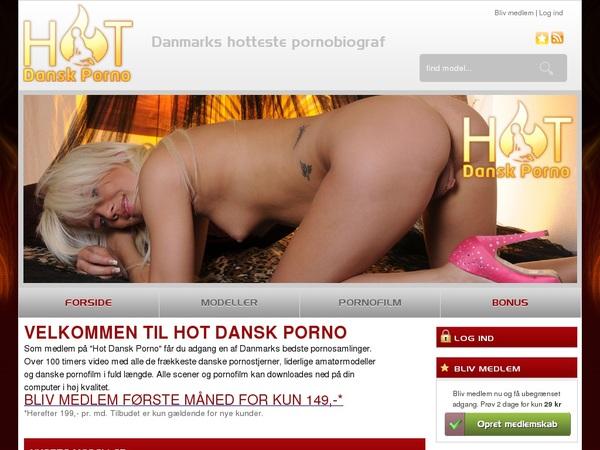 Free Hot Dansk Porno Premium Accounts