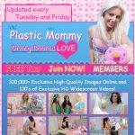 Plastic Mommy Threesome