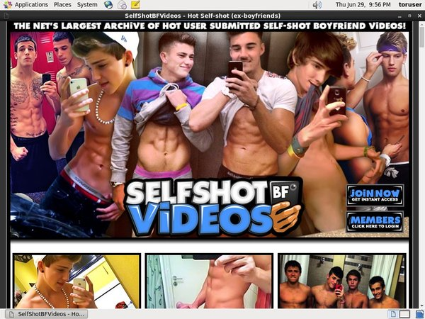 Selfshot BF Videos Get Trial Membership