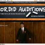 Sordid Auditions 암호