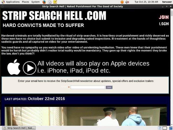 Strip Search Hell Descargar
