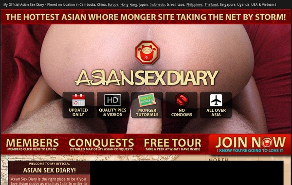 Asian Sex Diary Discount Setup