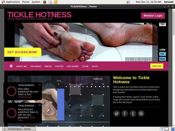Ticklehotness.com Free Trial Signup