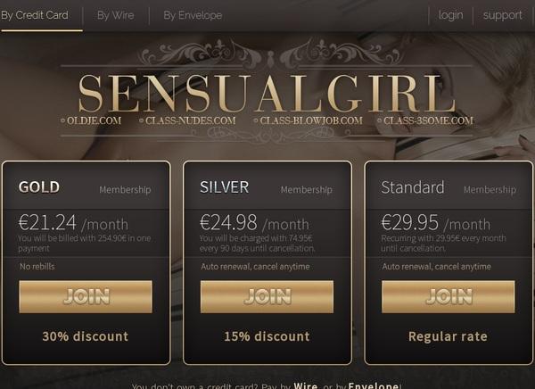 Free Sensual Girl Membership Account
