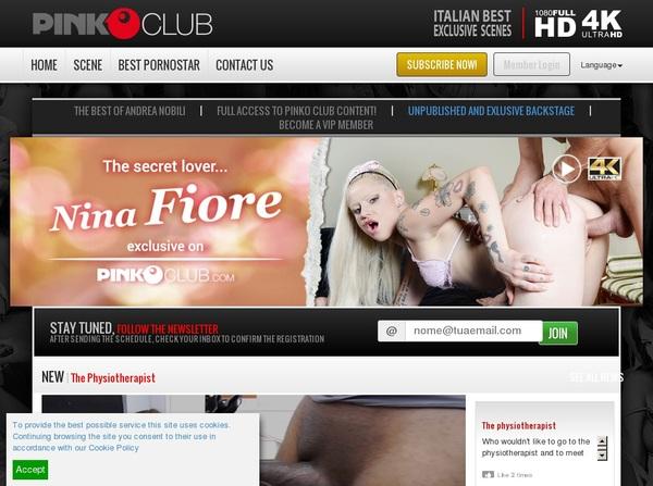 PinkO Club Sconto