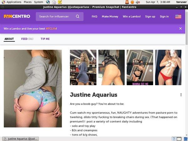 Aquariusjustine Paypal