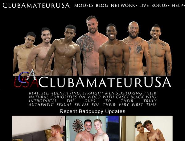Club Amateur USA Member Access