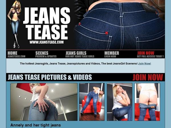 Jeans Tease Clip Cash