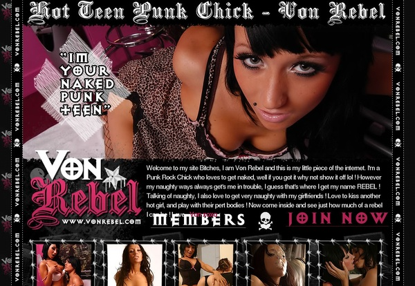 Get Von Rebel Discount Membership