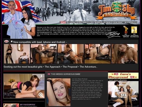 Jim Slip's Uk Street Sluts Premium Pass
