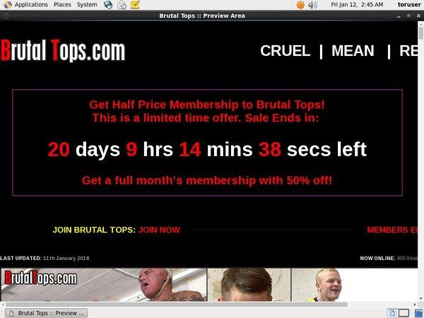 Brutaltops.com Premium Login