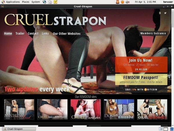 Get Cruel-strapon.com Day Trial