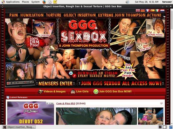 Gggsexbox.com Bank Payment