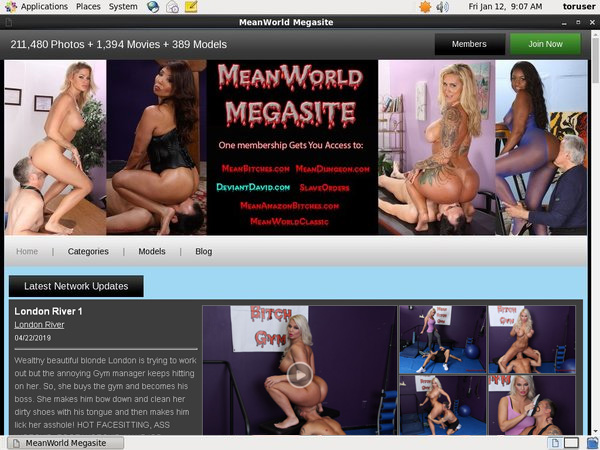 Meanworld.com Free Trial Pw