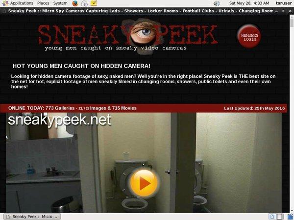 Sneakypeek.net Gratuite