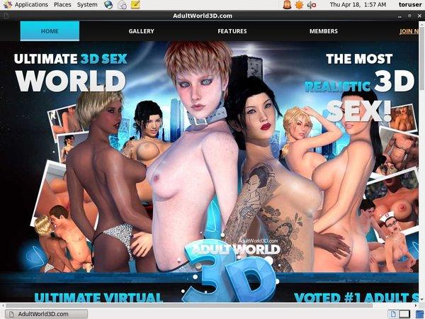 Adultworld3d.com Discount Save
